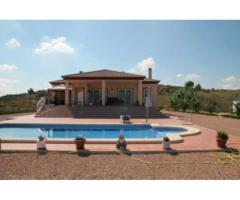 Superb detached villa with large swimming pool in Aspe